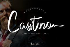 Casstino Handwritten Font Product Image 1