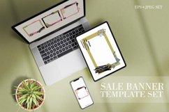 Sale banner template mega set Product Image 1