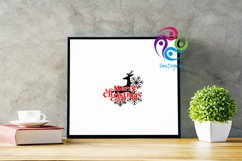 Merry Christmas Deer Svg File Product Image 3