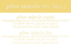 Yellow Umbrella Product Image 2
