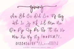 Giving - Script Font Product Image 5
