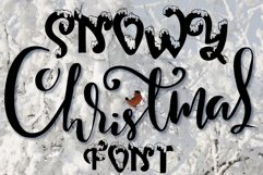Snow-covered display font Product Image 1