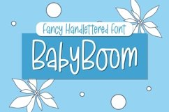 Web Font BabyBoom - Fancy Font Product Image 1