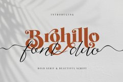 Brohillo Font Duo Product Image 1