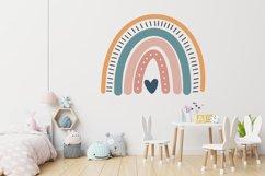 Boho Rainbow SVG bundle - png dxf eps Product Image 5