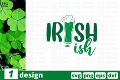 Irish SVG Cut File | St Patricks Day Cut File Product Image 1