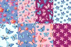 Butterflies Digital Papers Product Image 4
