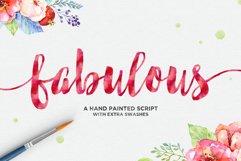 Fabulous Script Product Image 1