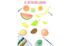 Watercolor sweet fruits Product Image 3