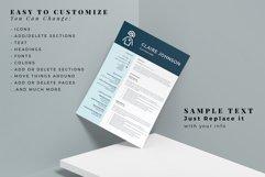 RN Nurse Resume template. Modern Resume format for Nurses Product Image 7