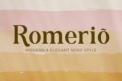 Romerio | Elegant Serif Style Product Image 1