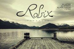 Robix Typeface  Extras Product Image 1