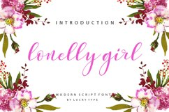 Lonelly Girl Product Image 1