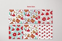 Xmas Vector Seamless Patterns Product Image 6