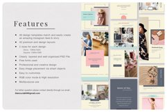 PRICILLE Instagram Pack | Canva, PSD Product Image 6