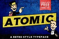 Atomic Typeface Product Image 1