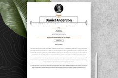 Clean Resume Cv Template in Editable Word Apple Pages Format Product Image 5