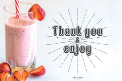 Double Smoothie Font Duo and Family Product Image 4
