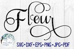 Flour Label, Kitchen, Pantry, Cut File Product Image 1