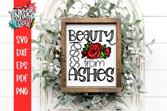 Beauty Rises From Ashes SVG Sublimation Product Image 1