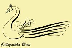 Calligraphic Birds Product Image 2