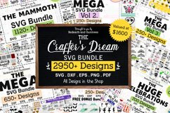 The Crafters Dream SVG Bundle, Huge Collection of SVG files Product Image 1