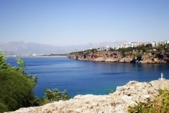 Mediterranean Sea in old city Kaleicy. Antalya Product Image 1