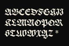 ED Morrigan typeface Product Image 2