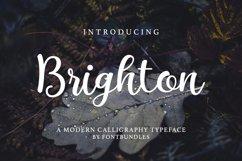 Web Font Brighton Product Image 1