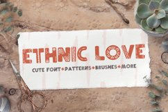 Ethnic love font BUNDLE 40 ELEMENTS Product Image 1