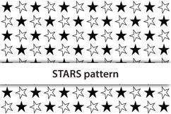 Seamless colored stars digital paper Product Image 2
