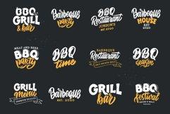 BBQ bundle. Food quotes. Design sublimation Product Image 5