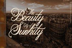 Classic Script - Metalurdo Calligraphy Font Product Image 2
