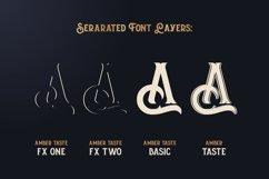 Amber Taste Font, Label, Mockup! Product Image 3