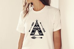 Teepees and Arrows Svg Bundle. Teepee SVG, Boho Arrows SVG. Product Image 3