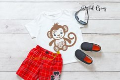 Monkey SVG / PNG / EPS / DXF Files Product Image 4