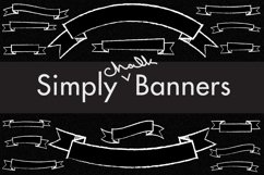 112 Chalkboard Banners Product Image 1