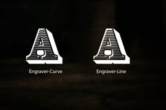 Engraver Font Product Image 2