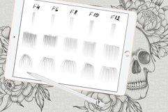Shadow tattoo needles brushes for Procreate Product Image 4