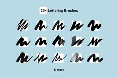Firstype Procreate Lettering Brushes for Beginners Product Image 3