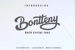 Bontteny Font Product Image 1