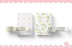 Pink Flower Seamless Patterns Product Image 3