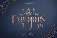 Explorers - Serif font Extras Product Image 1