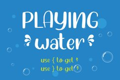 Water Shower - Cute Font Product Image 5