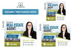 Real Estate Agent Animated Ad Banner Template - RE002 Product Image 2