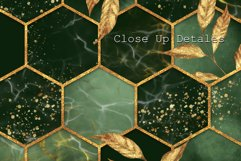 Hexagon patterns. Set of 4 colors Product Image 3