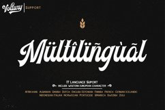 Voltury 4 fonts with extras Product Image 5