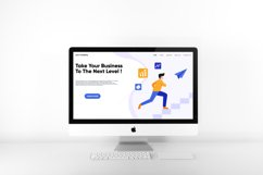 Next Level Business landing page design Product Image 2
