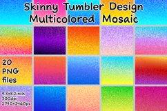 Skinny Tumbler. Skinny Tumbler Sublimation. Tumbler Design Product Image 2