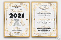 New Year Menu Template Product Image 2
